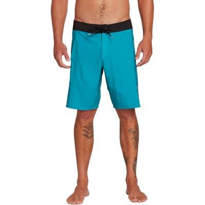 Volcom Deadly Stones 2.0 Board Shorts, Blue