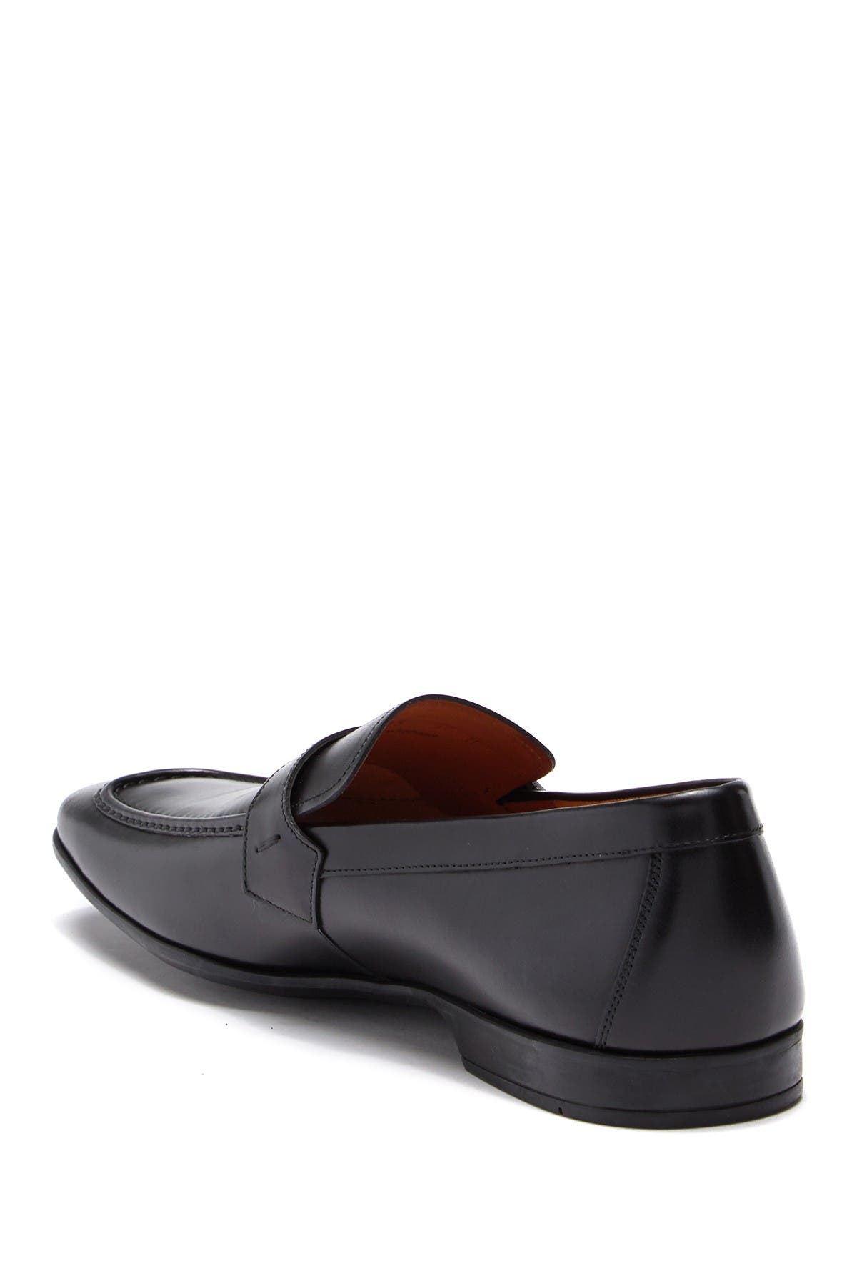 Image of Magnanni Tonic Leather Buckle Loafer