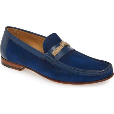 Mezlan Segura Loafer, Blue