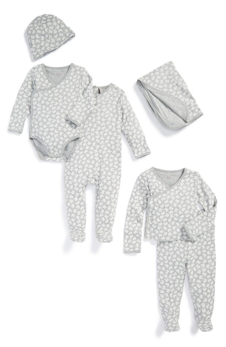 STELLA MCCARTNEY KIDS 'Starling' Six-Piece Organic Cotton Gift Set, Main, color, 062