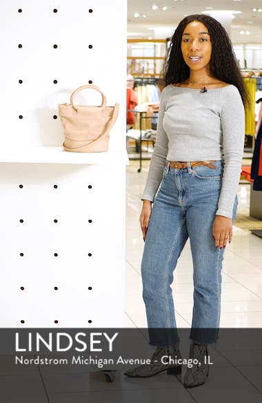 Debdi Suede & Faux Leather Crossbody Bag, sales video thumbnail
