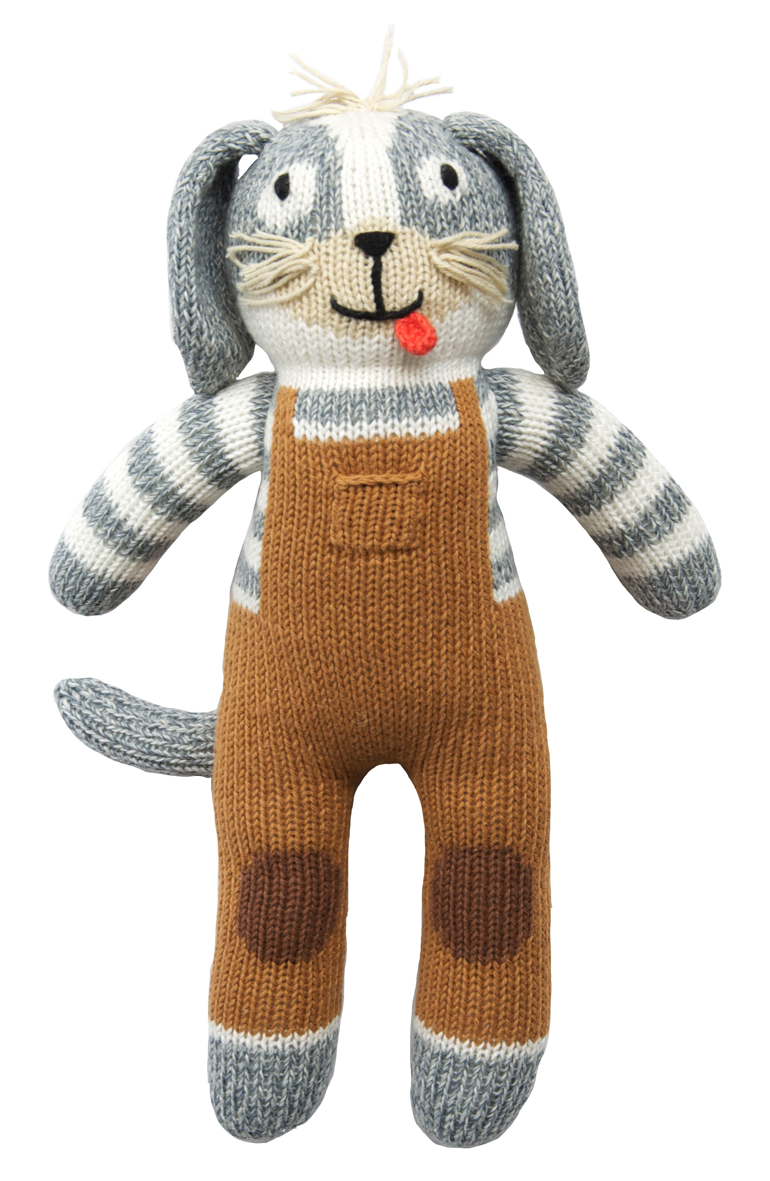 Blabla Toutou The Dog Hand Knit Doll