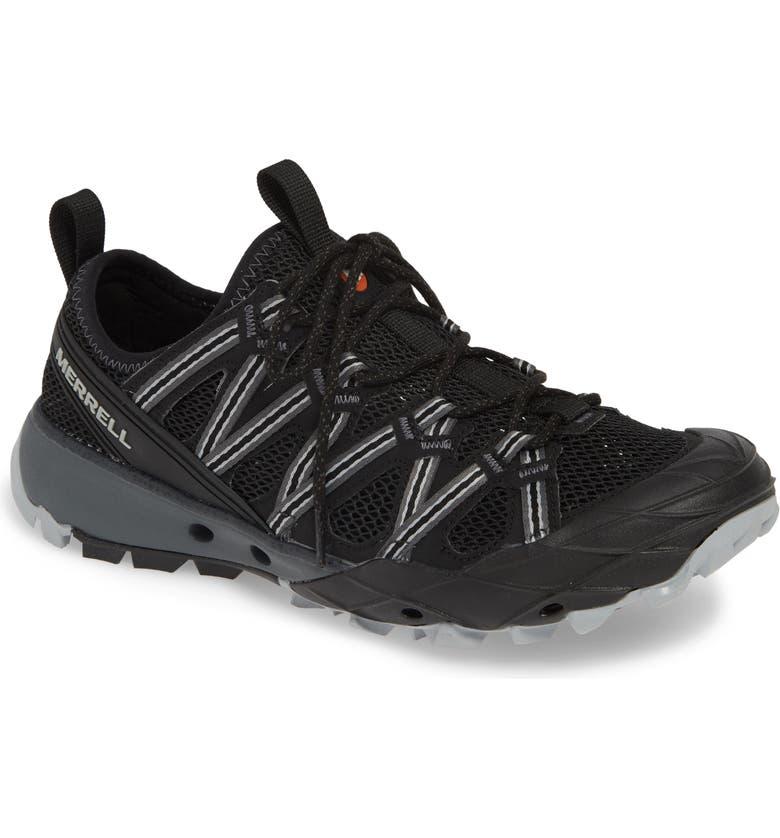 MERRELL Choprock Hiking Shoe, Main, color, BLACK