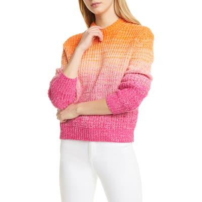 Polo Ralph Lauren Ombre Wool & Cashmere Blend Sweater, Pink
