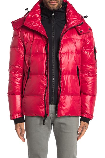 Image of S13 Hooded Quilted Puffer Jacket