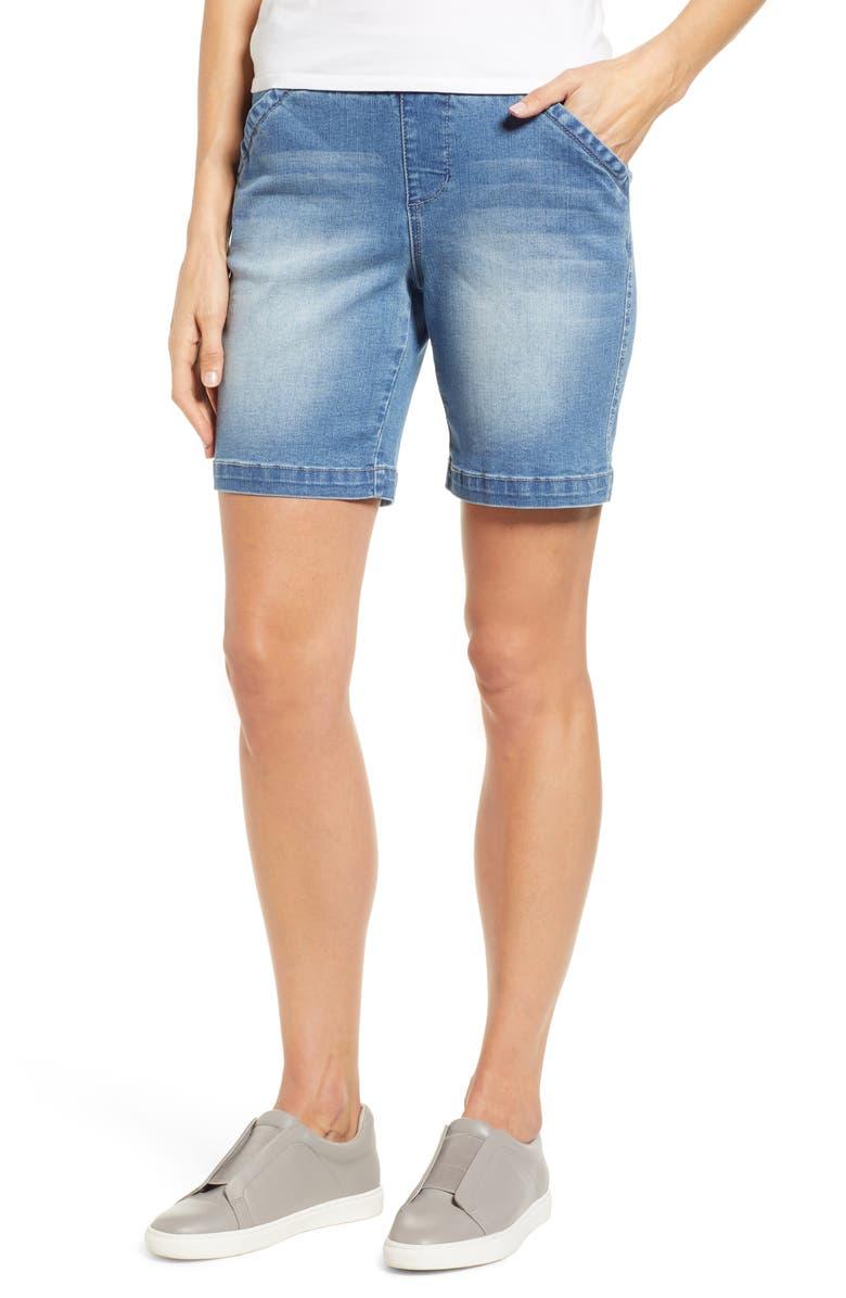 JAG JEANS Gracie Stretch Denim Shorts, Main, color, 420
