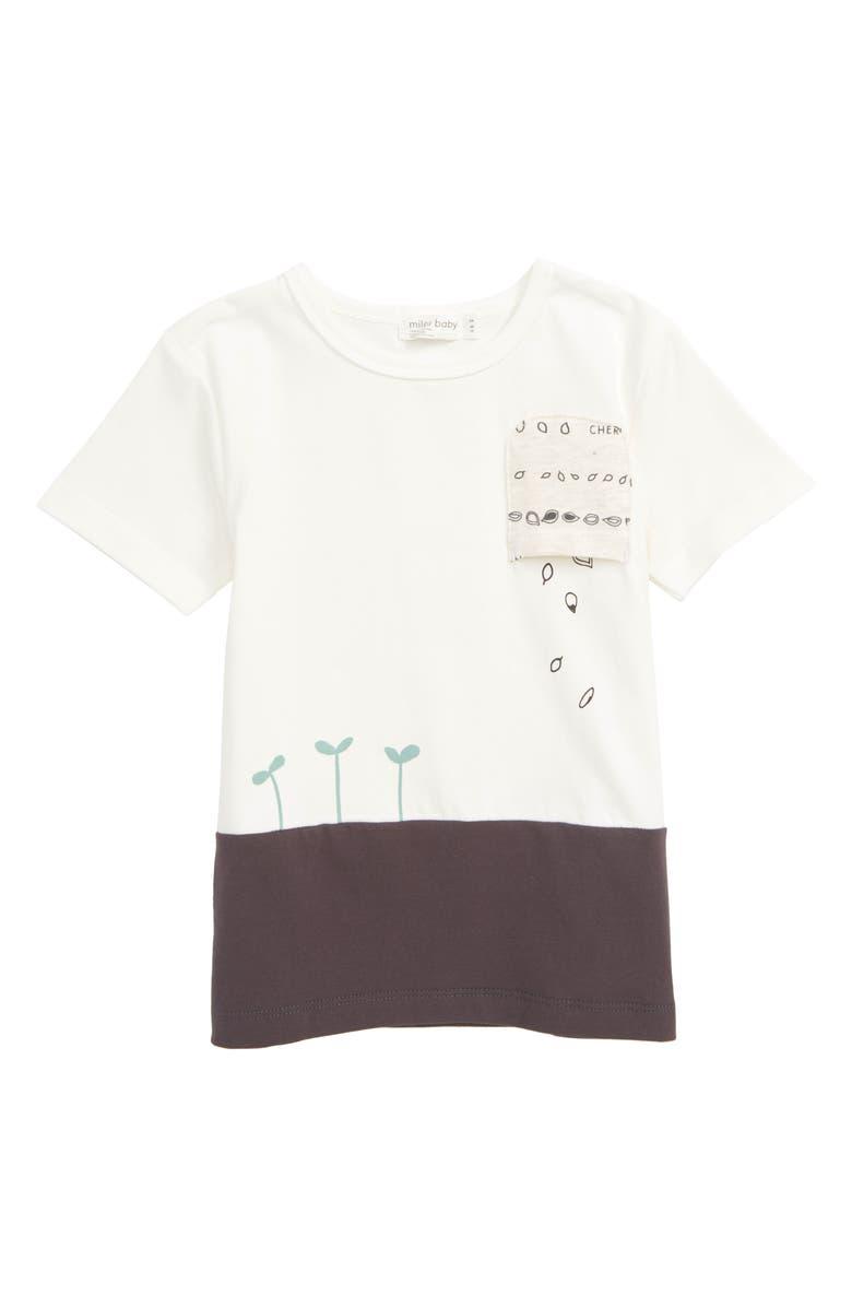 MILES BABY Pocket T-Shirt, Main, color, 900