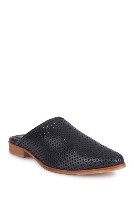 Image of ITALEAU Teresia Perforated Waterproof Leather Mule