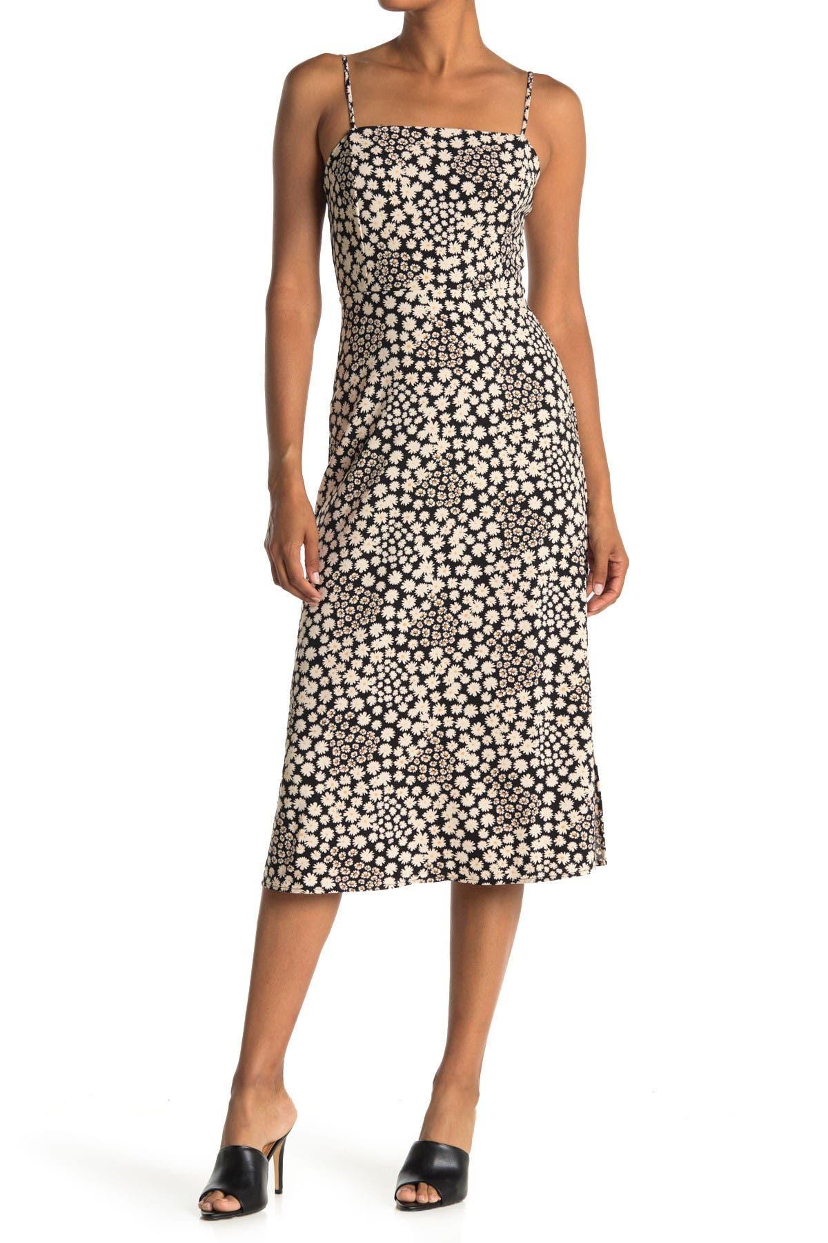 Image of Lush Floral Cami Midi Dress