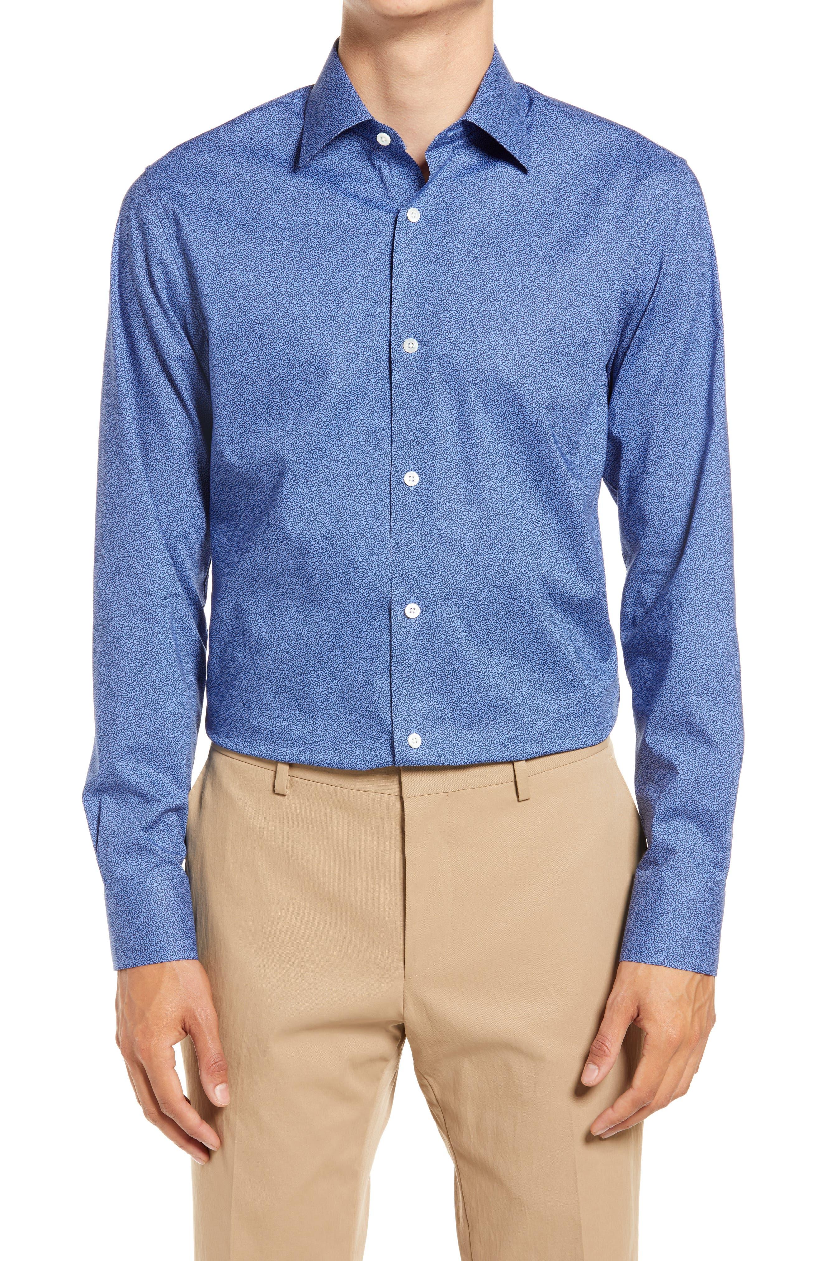 Jetsetter Slim Fit Vine Stretch Dress Shirt