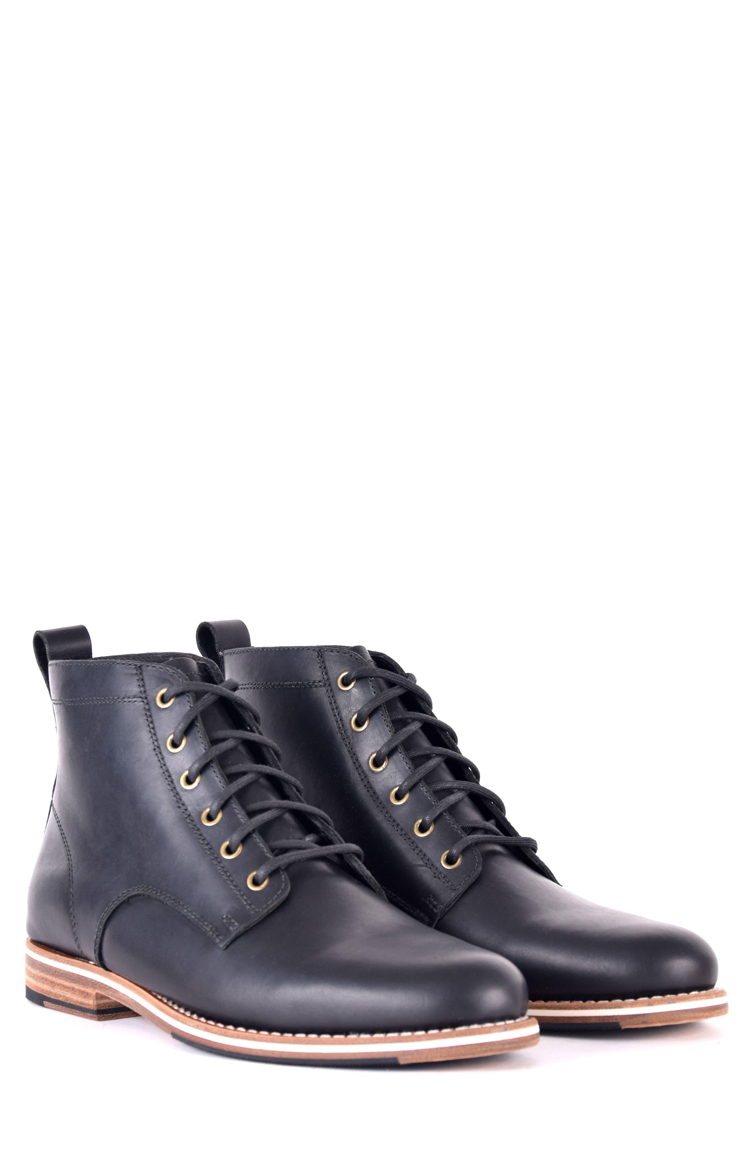 Zind Plain Toe Boot