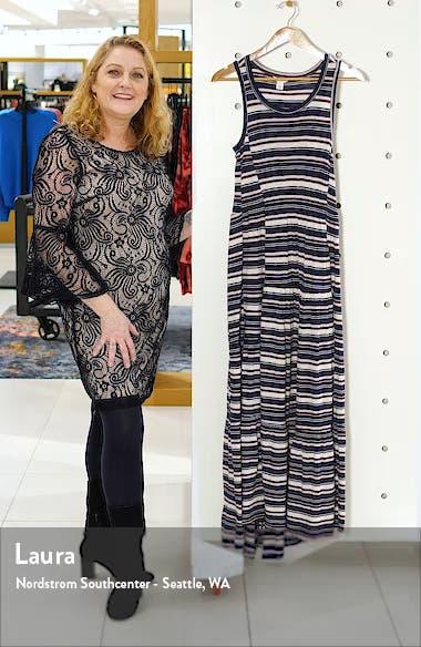 Tiered Smocked Waist Jersey Maxi Dress, sales video thumbnail