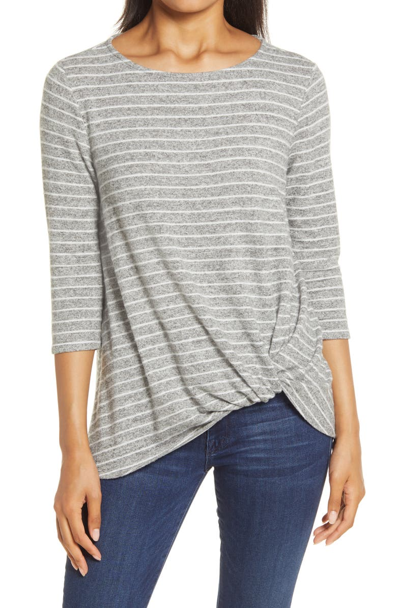 GIBSONLOOK Gibson Cozy Twist Front Pullover, Main, color, 057