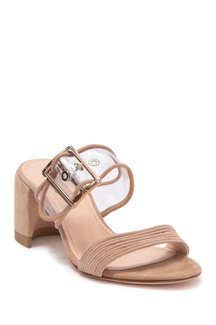 Image of AGL Transparent Buckle Strap Mule