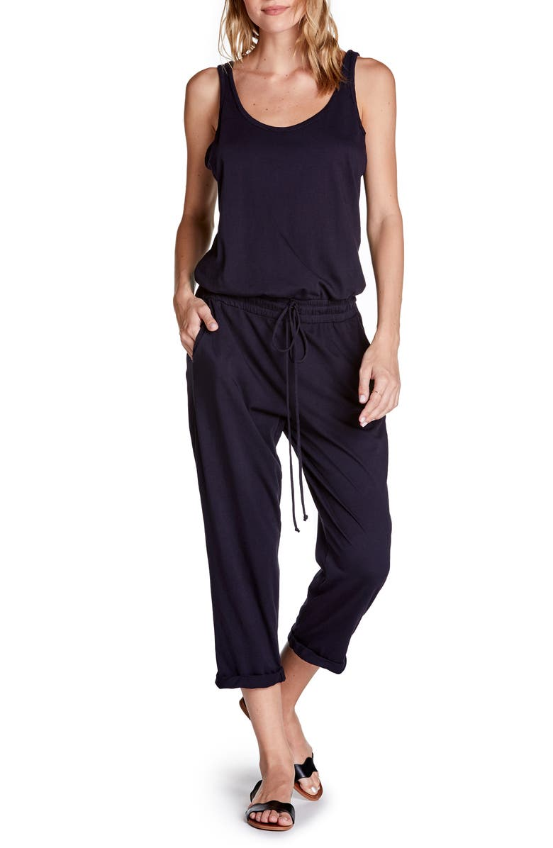 MICHAEL STARS Tank Style Jumpsuit, Main, color, ADMIRAL