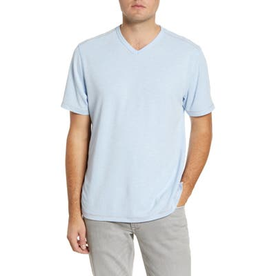 Tommy Bahama Tropicool Paradise V-Neck T-Shirt, Blue