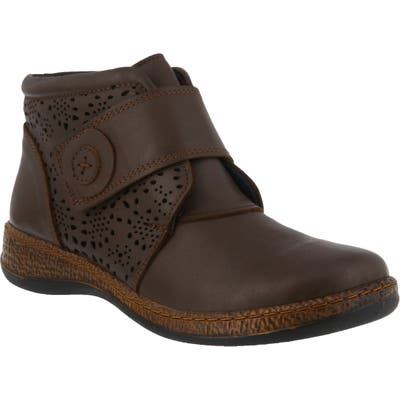 Spring Step Souzala Bootie - Brown