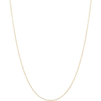 Zoe Chicco 14K Gold Cable Chain Necklace