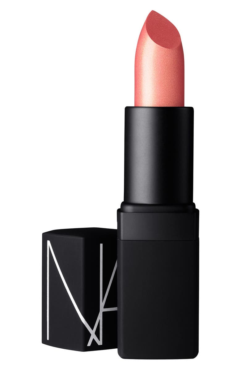 NARS Orgasm Satin Lipstick, Main, color, 000
