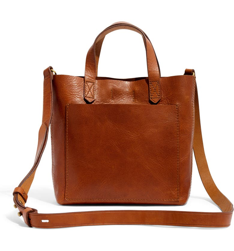 cba1affd03a Small Transport Leather Crossbody, Main, color, ENGLISH SADDLE