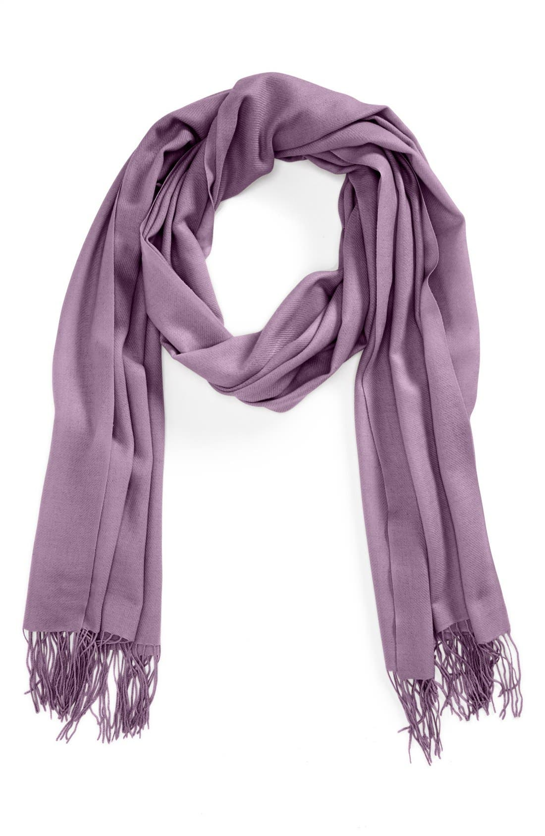 ,                             Tissue Weight Wool & Cashmere Wrap,                             Main thumbnail 157, color,                             552