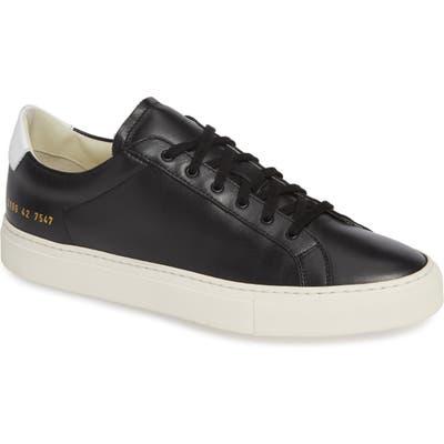 Common Projects Retro Sneaker, Black