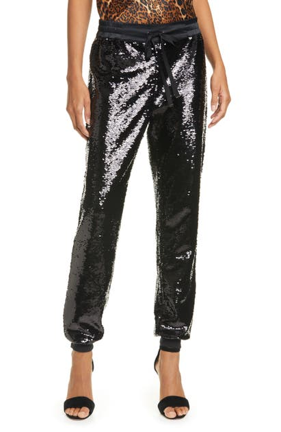 Cami Nyc Pants THE JAGGER SEQUIN JOGGER PANTS