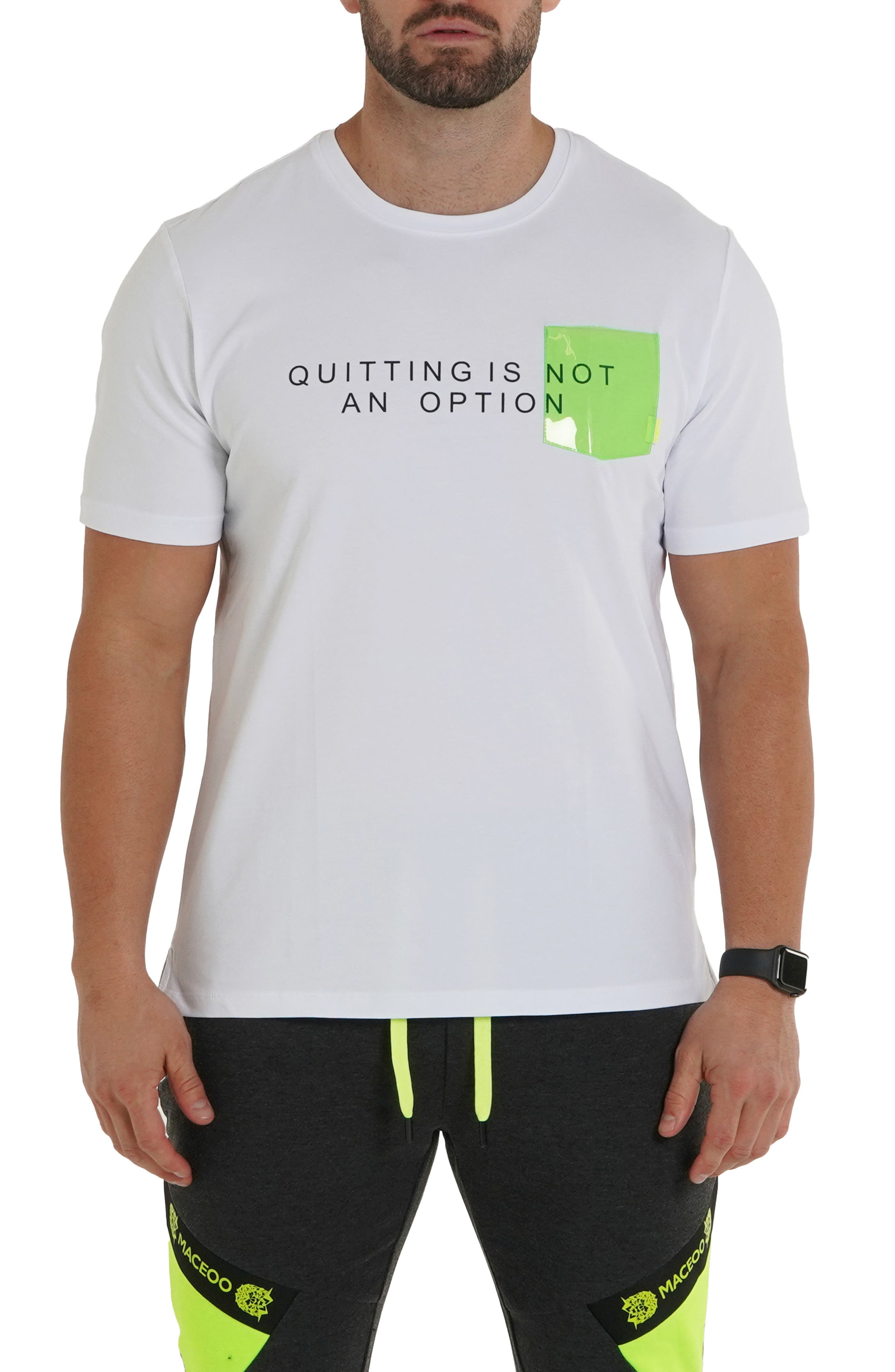 Quitting Is Not An Option Graphic Tee