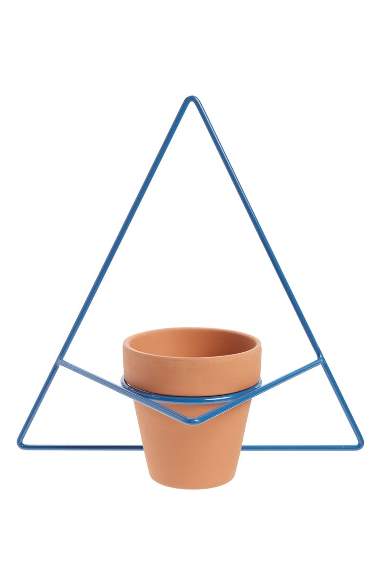 NEWMADE LA Triangle Wall Mount Planter, Main, color, 400