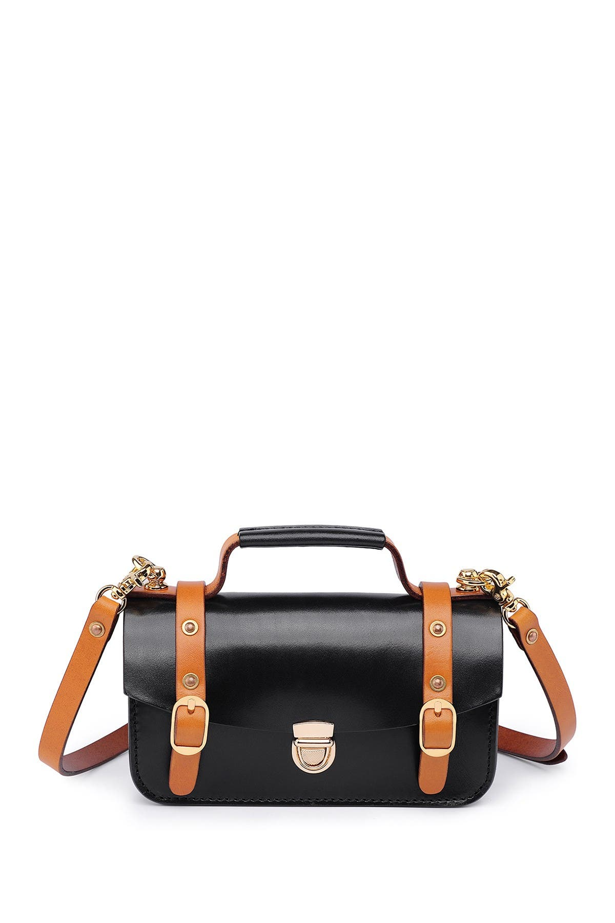 Image of Old Trend Leather Messenger Bag