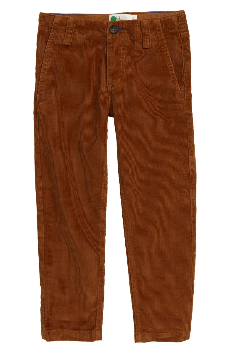 MINI BODEN Relaxed Corduroy Pants, Main, color, RUSTIC BROWN