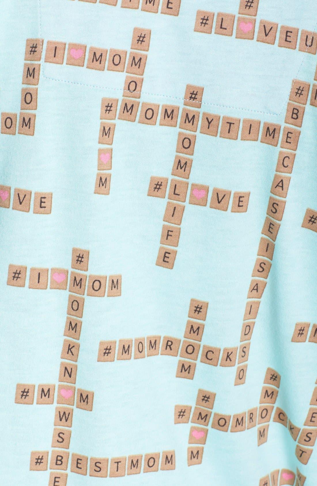 ,                             Print Jersey Pajamas,                             Alternate thumbnail 16, color,                             330