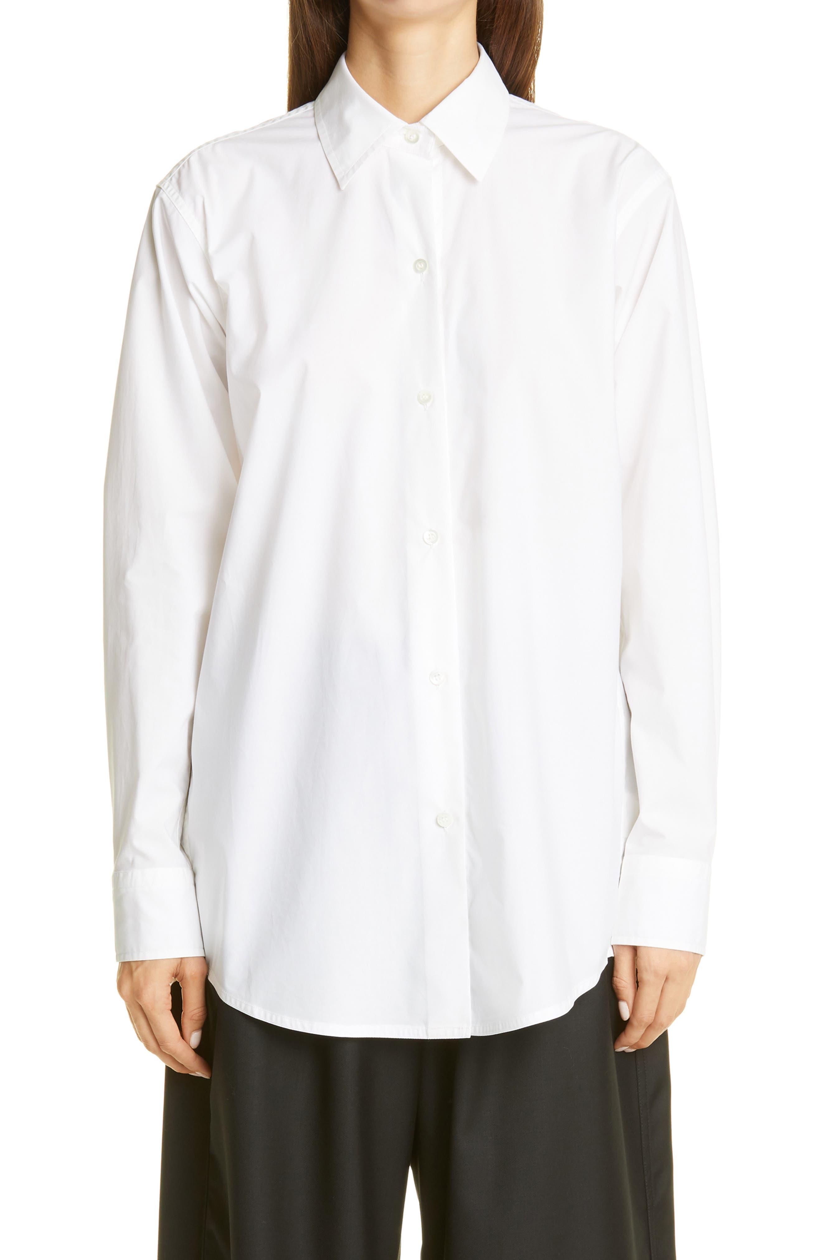 Sofie D'Hoore Cotton Poplin Shirt | Nordstrom