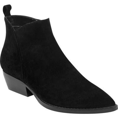 Marc Fisher Ltd Obrra Pointy Toe Bootie- Black