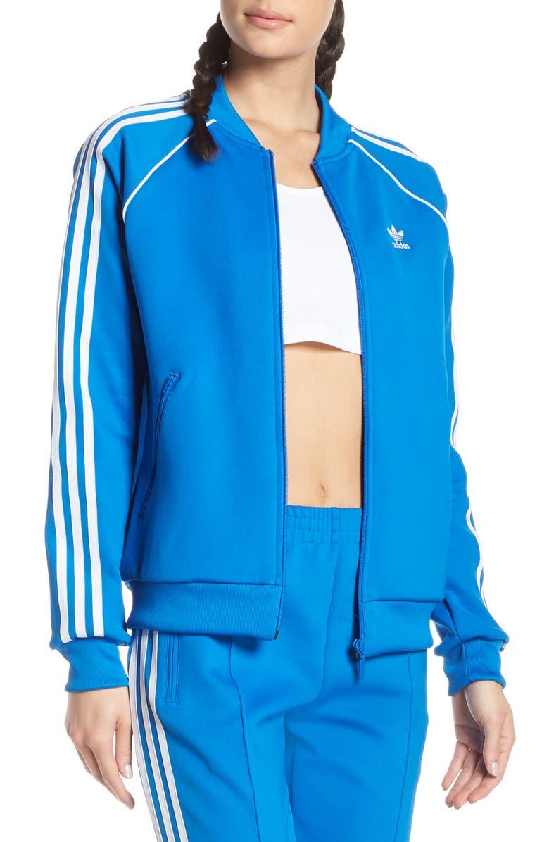 ADIDAS ORIGINALS adidas SST Track Jacket, Main, color, BLUEBIRD