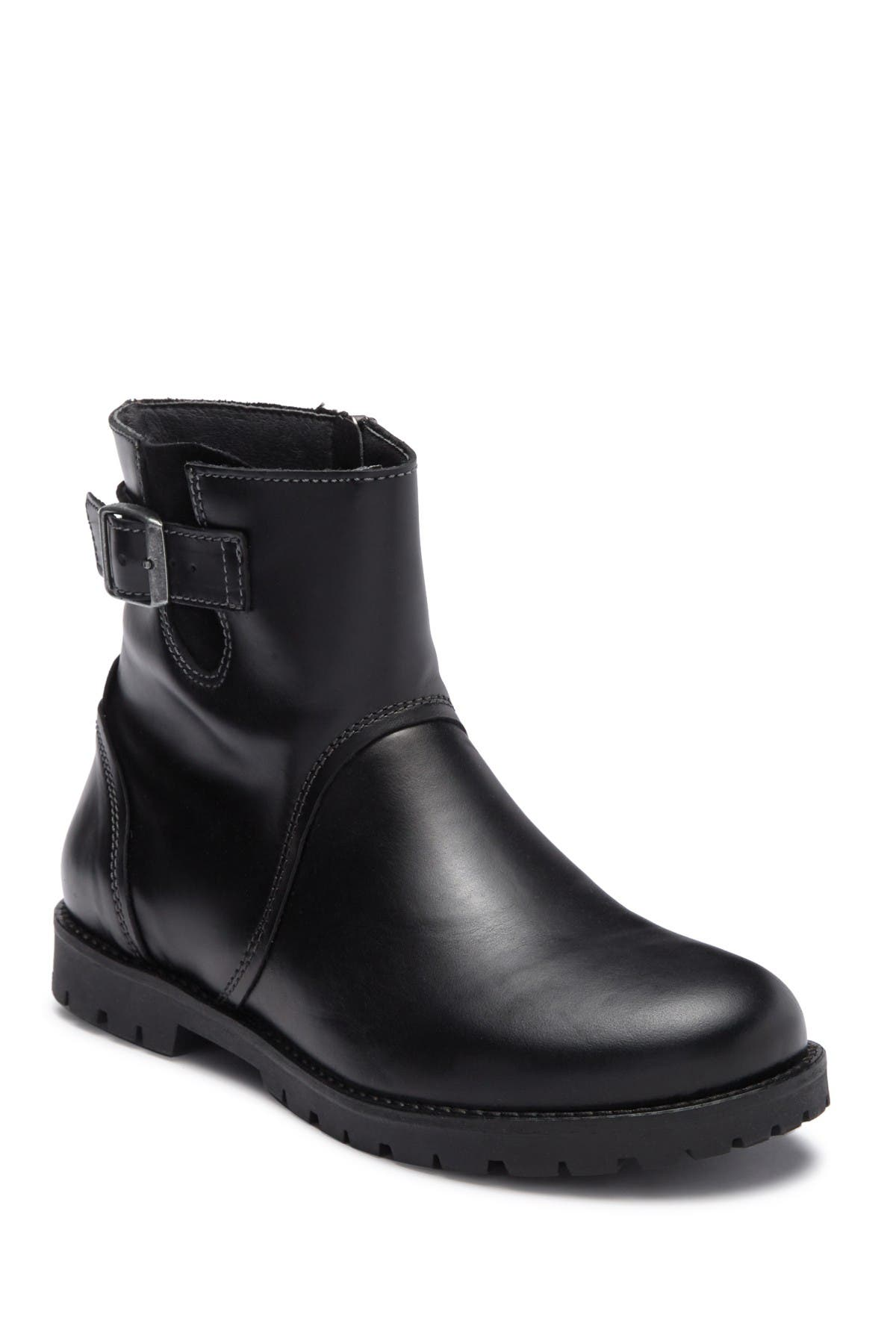 Birkenstock   Stowe Leather Moto Boot