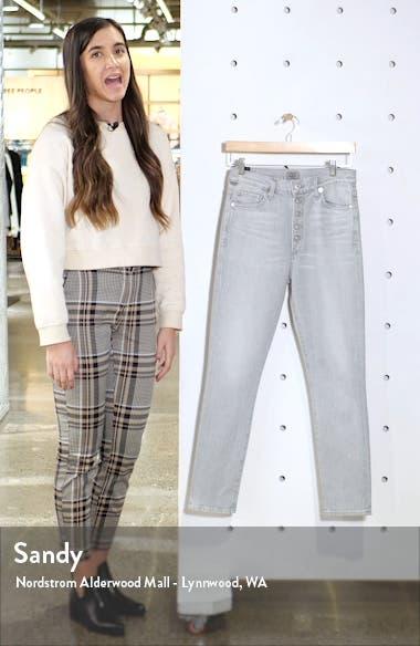 Olivia High Waist Ankle Slim Jeans, sales video thumbnail