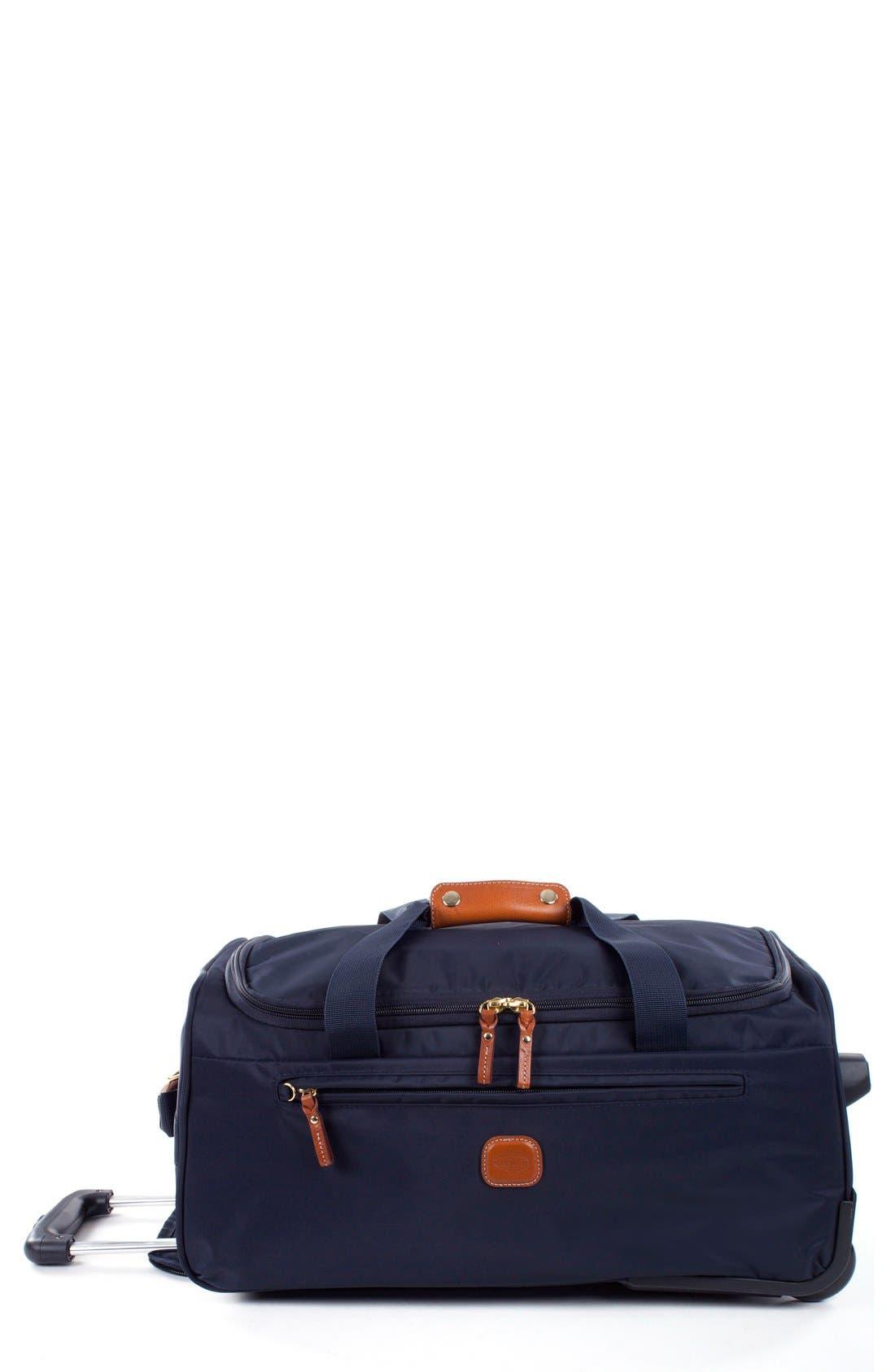 Brics X-Bag 21-Inch Rolling Carry-On Duffle Bag