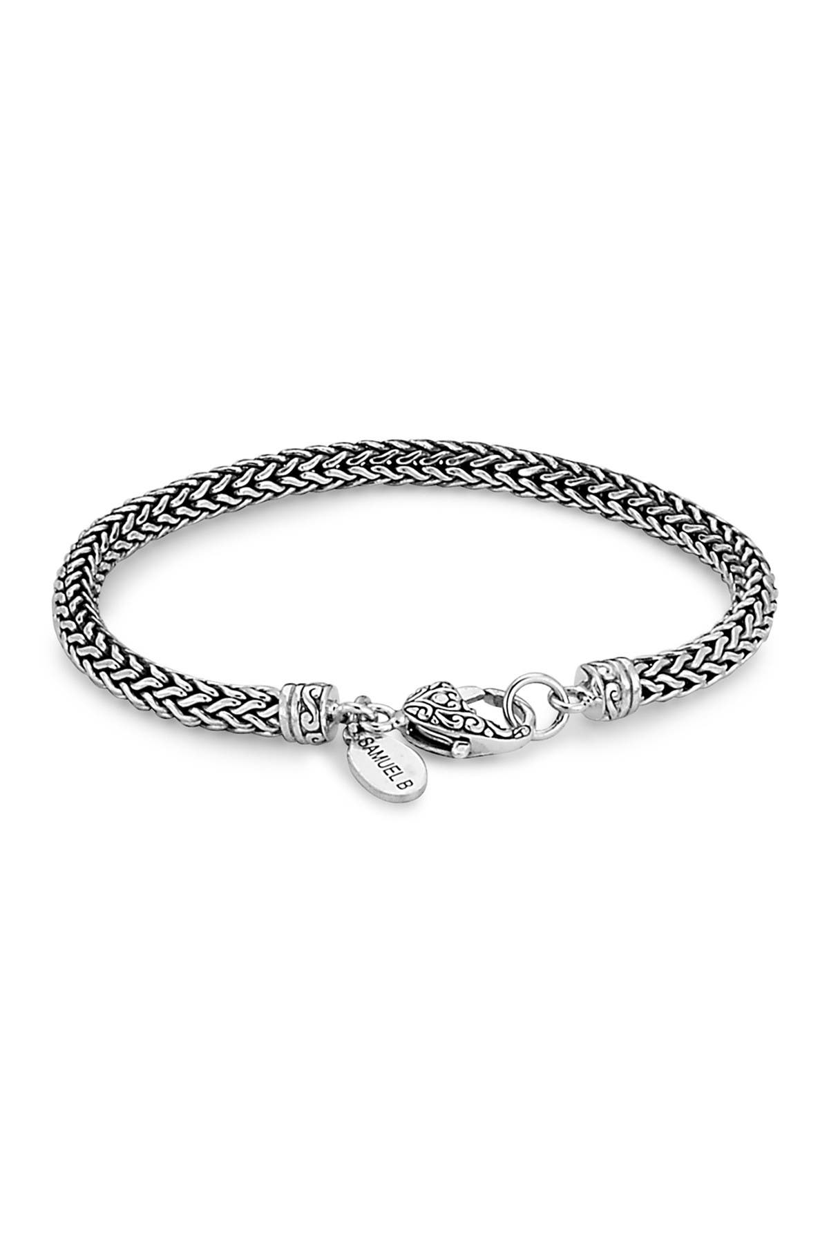 Image of Samuel B Jewelry Sterling Silver Tulang Naga Bracelet