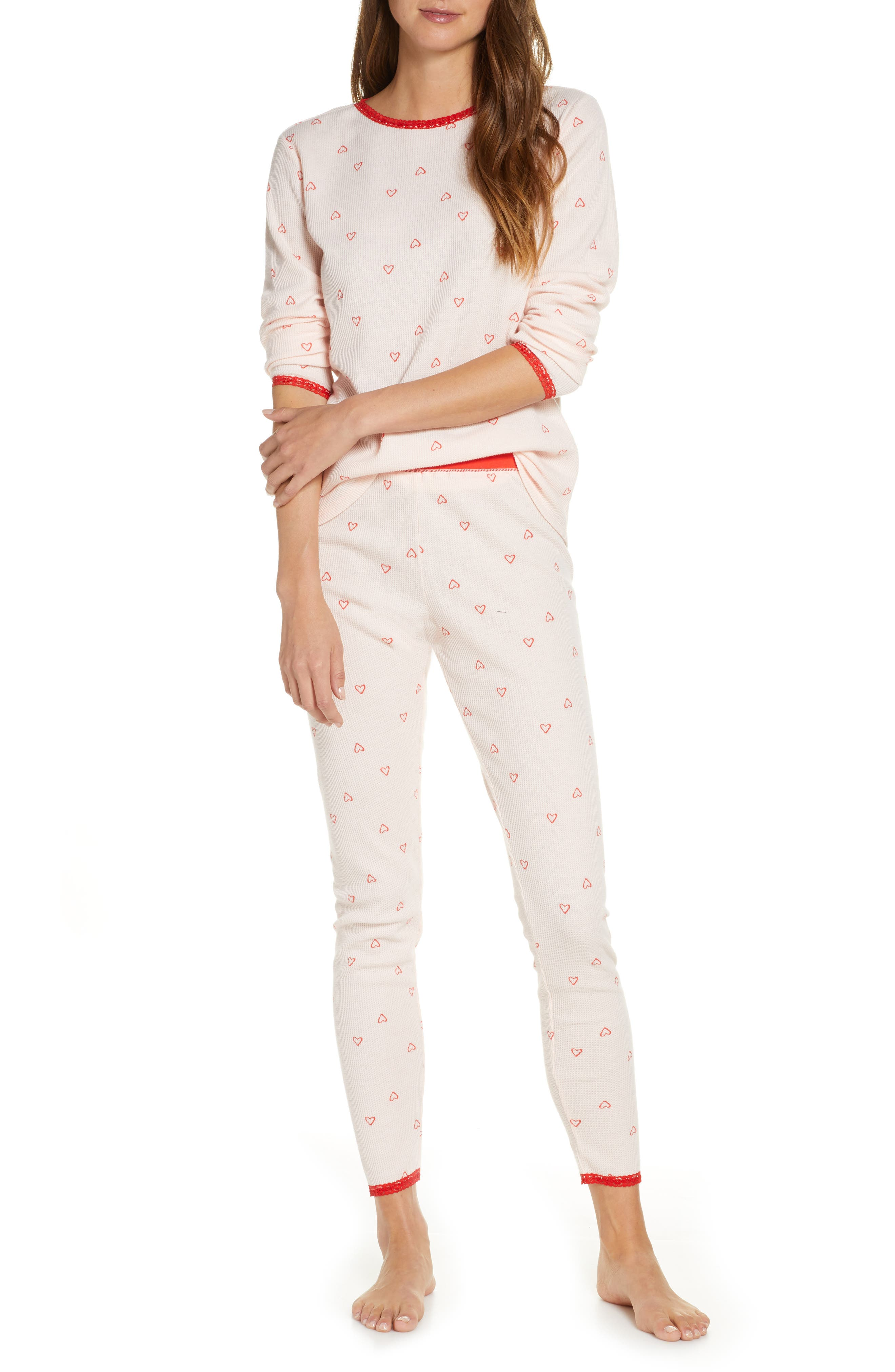 Rachel Parcell Thermal Pajamas (Nordstrom Exclusive)