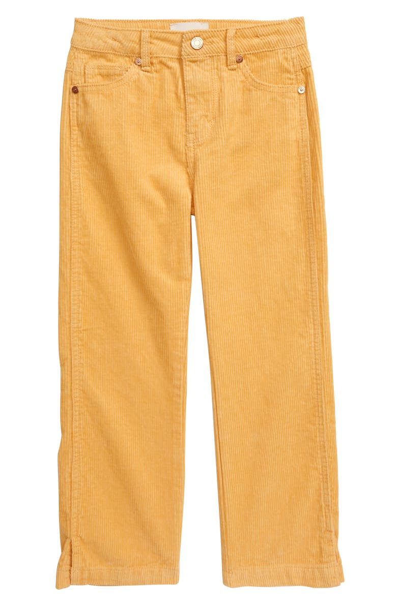 HABITUAL Leona Wide Leg Corduroy Pants, Main, color, GOLD