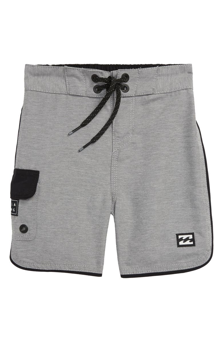 BILLABONG 73 OG Board Shorts, Main, color, DARK GREY