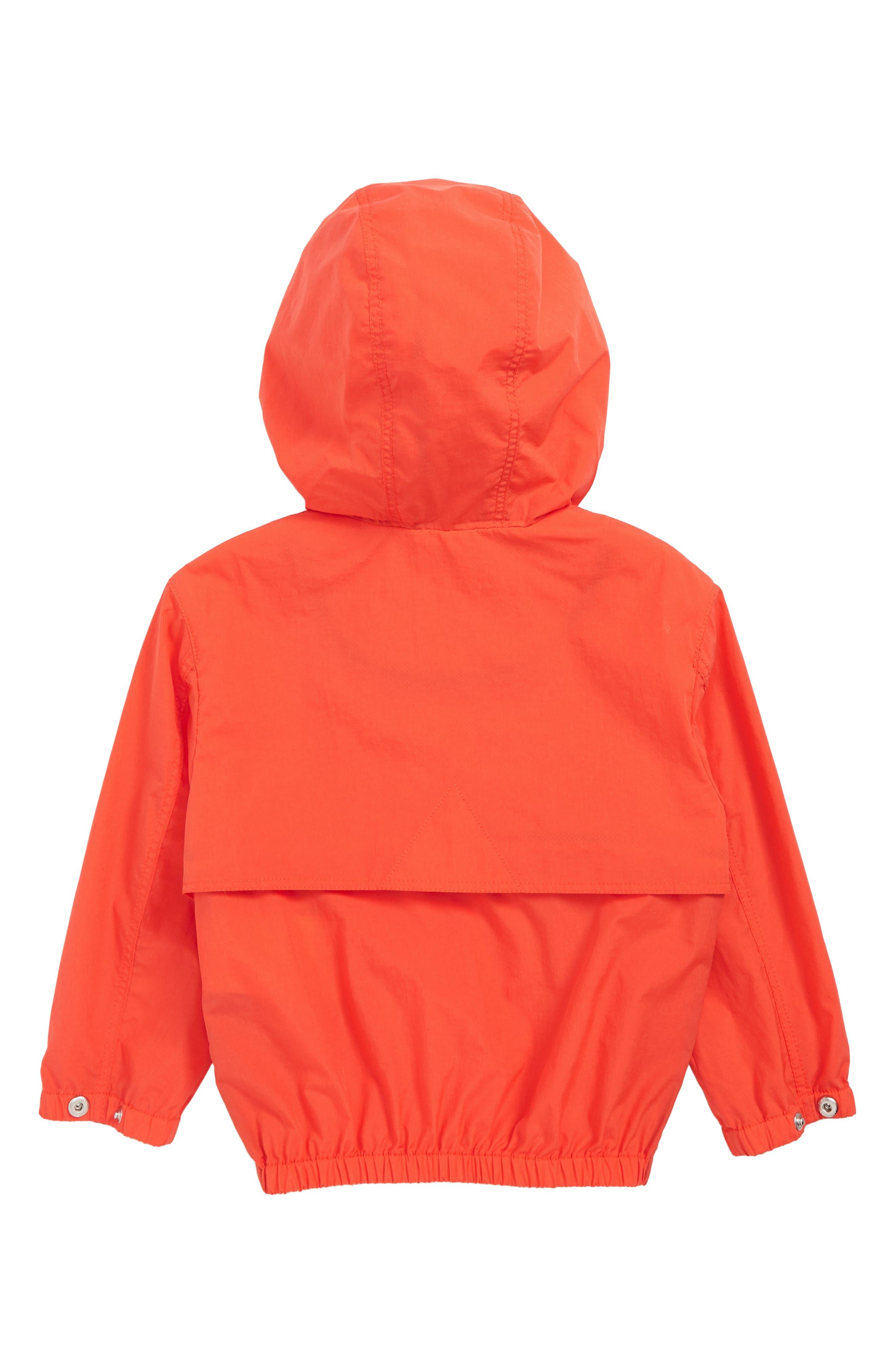 ,                             Austin Logo Hooded Jacket,                             Alternate thumbnail 2, color,                             ORANGE RED