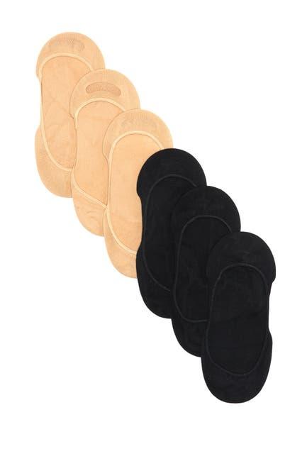 Image of RACHEL Rachel Roy Basic Microfiber Liner Socks - Pack of 6