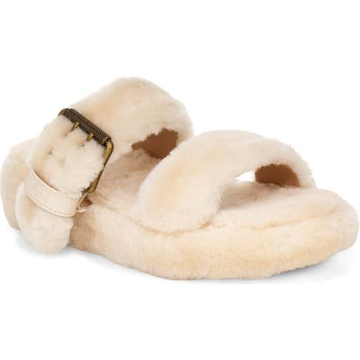 Ugg Fuzz Yeah Genuine Shearling Slide