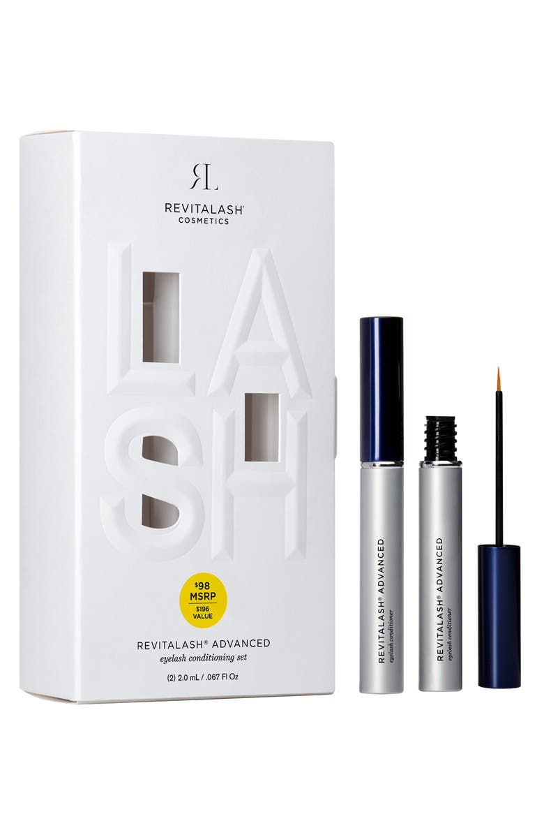 Advanced Eyelash Conditioner Duo by Revitalash®