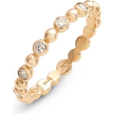 Anzie Dew Drop Diamond Band Ring