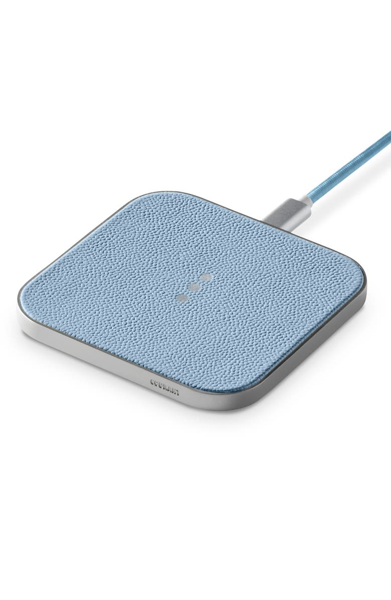 COURANT Catch1 Wireless Charger, Main, color, PACIFIC BLUE