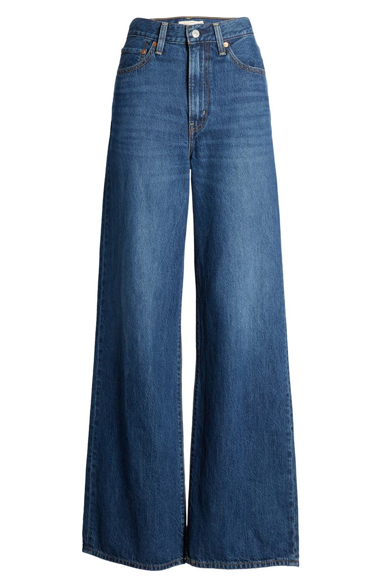 LEVI'S<SUP>®</SUP> Ribcage Super High Waist Wide Leg Jeans, Alternate, color, HIGH TIMES