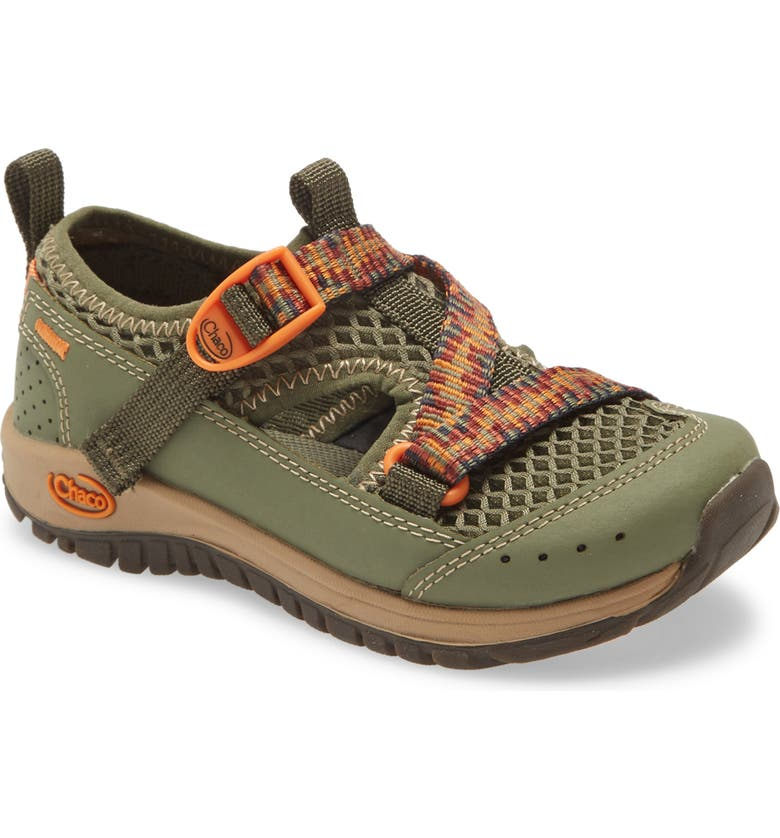 CHACO Odyssey Waterproof Hiking Sneaker, Main, color, LICHEN